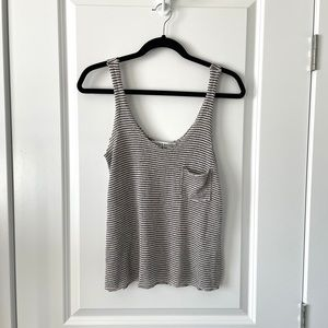 UO / PROJECT SOCIAL T / STRIPED POCKET TANK TOP
